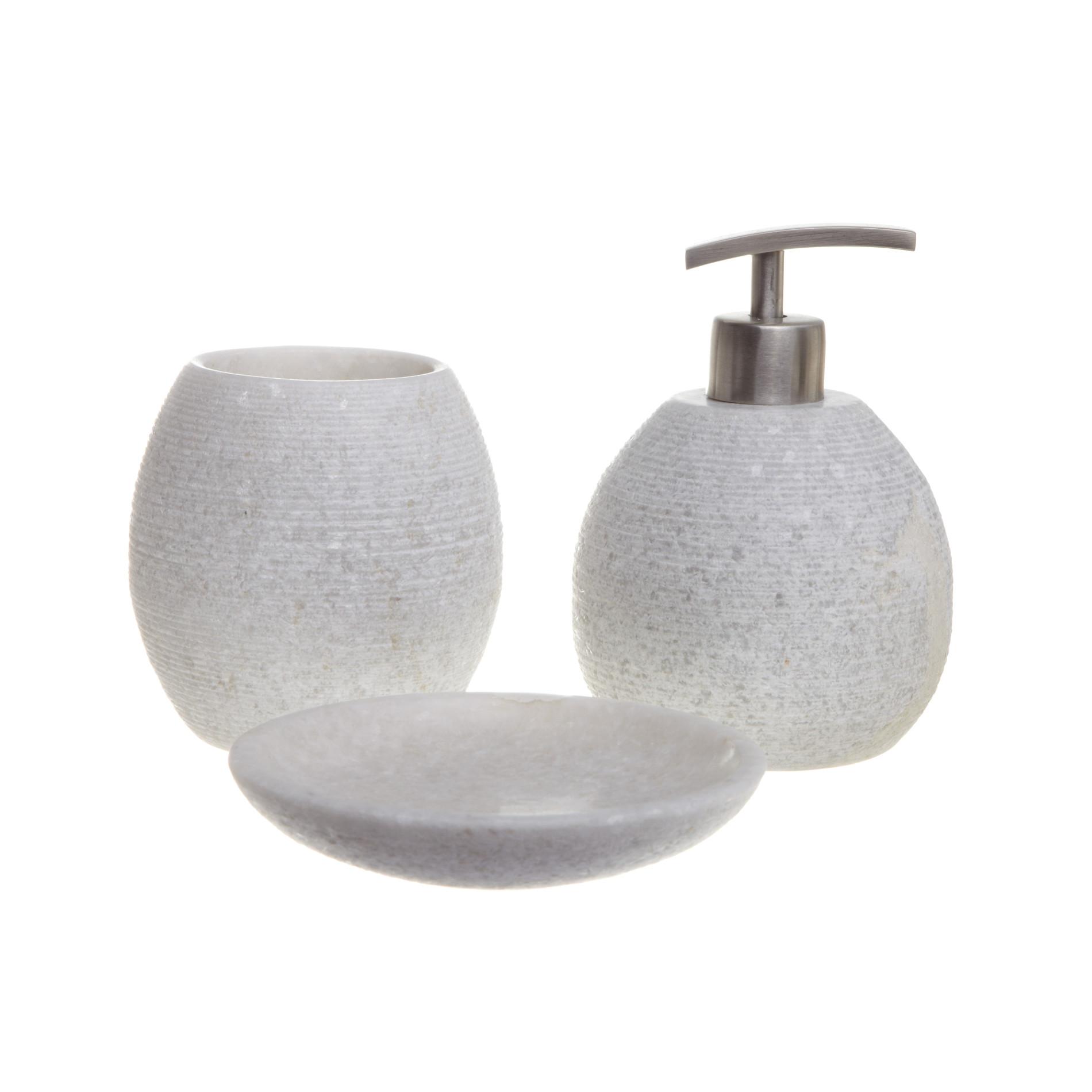 Set bagno marmo rigato - coincasa