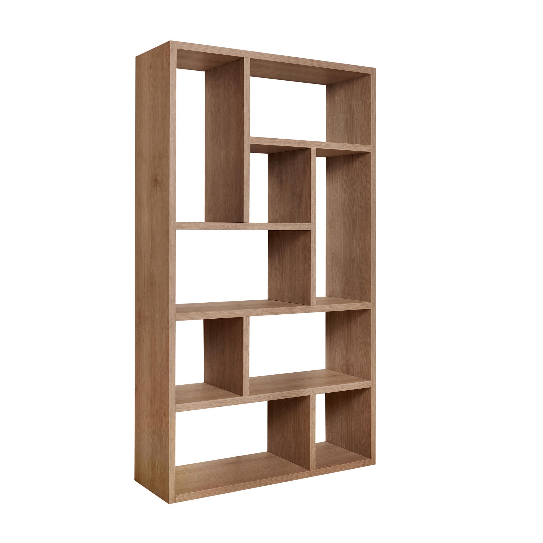 Libreria in legno olmo naturale - coincasa