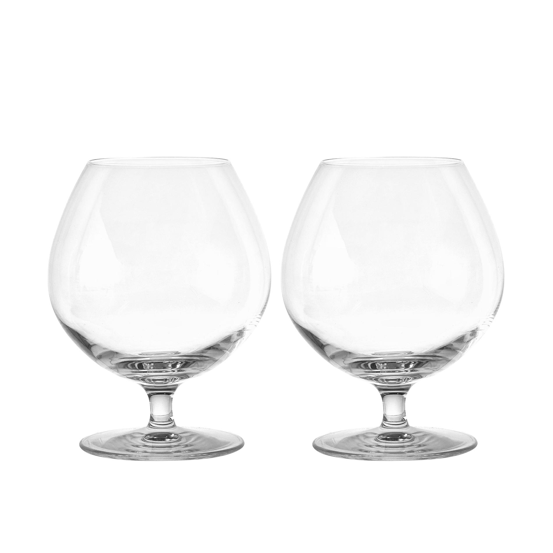 Set 2 calici brandy in vetro coincasa - Coincasa bicchieri ...
