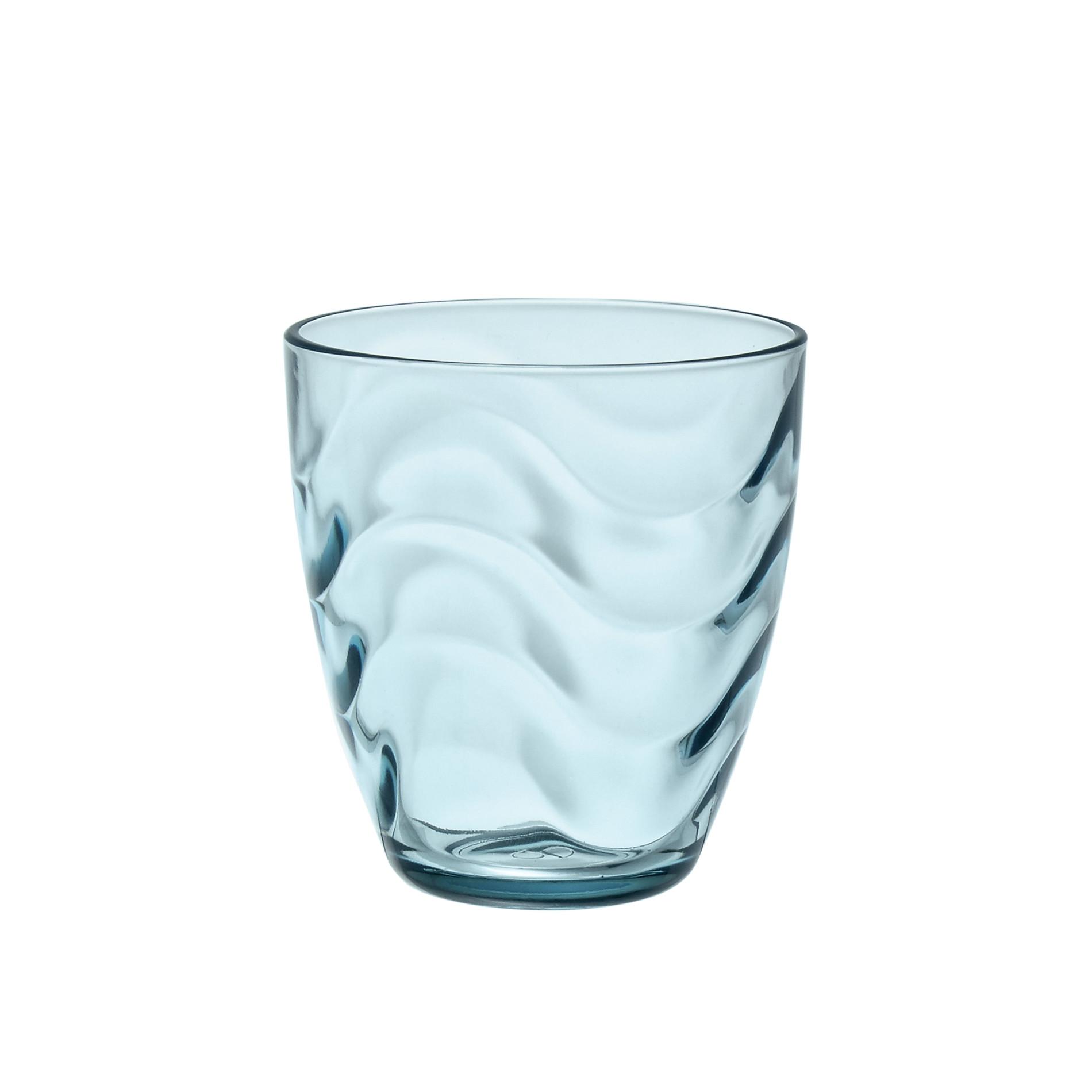 Bicchiere acqua in vetro colorato coincasa for Bicchieri colorati vetro