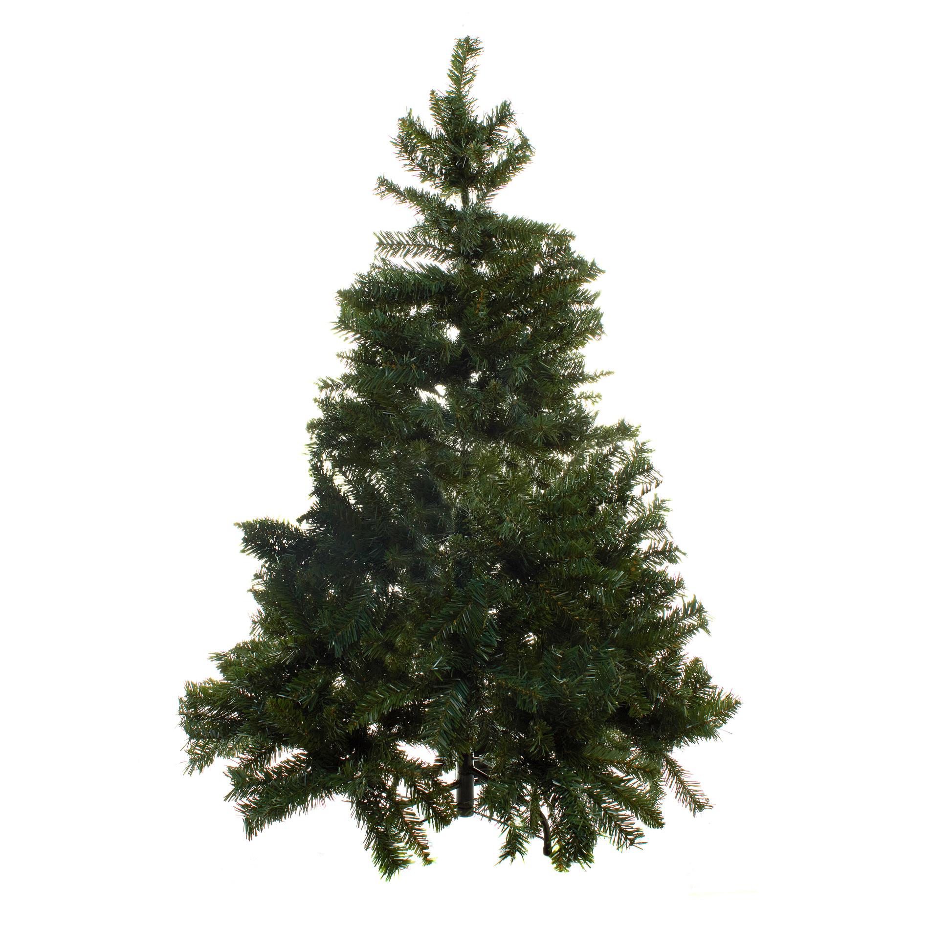 Albero di natale canada con rami folti h135 cm coincasa for Obi albero di natale