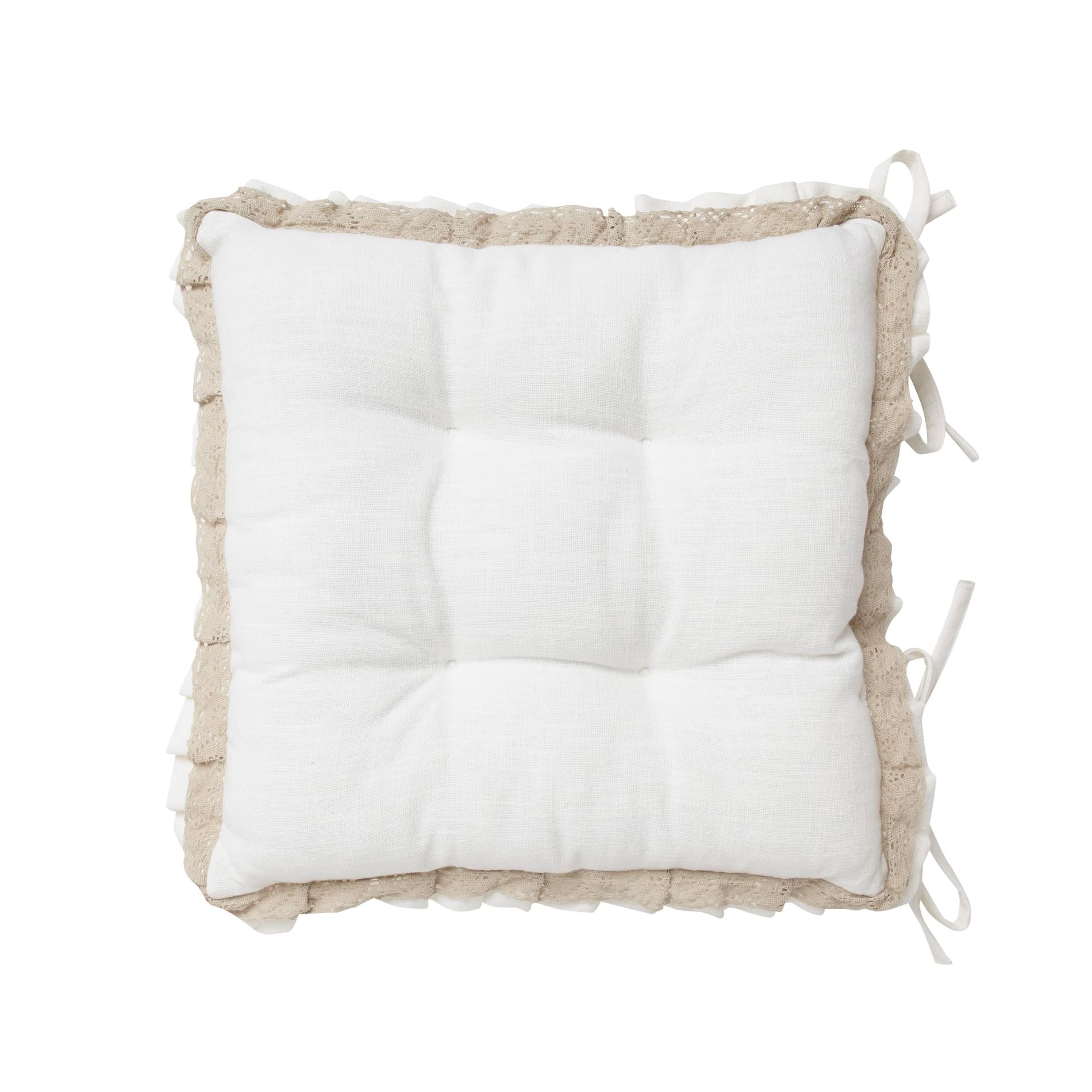 cuscino sedia burano pizzo - coincasa
