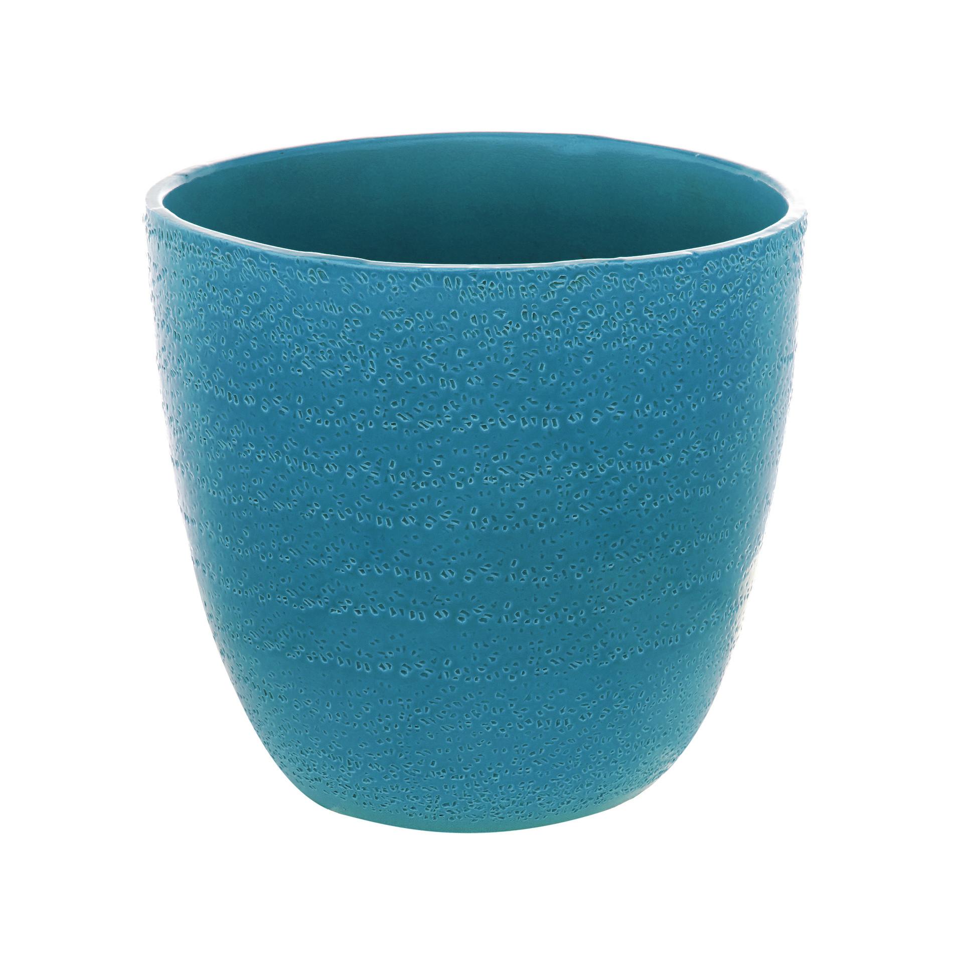 Rough Portuguese ceramic cachepot - coincasa