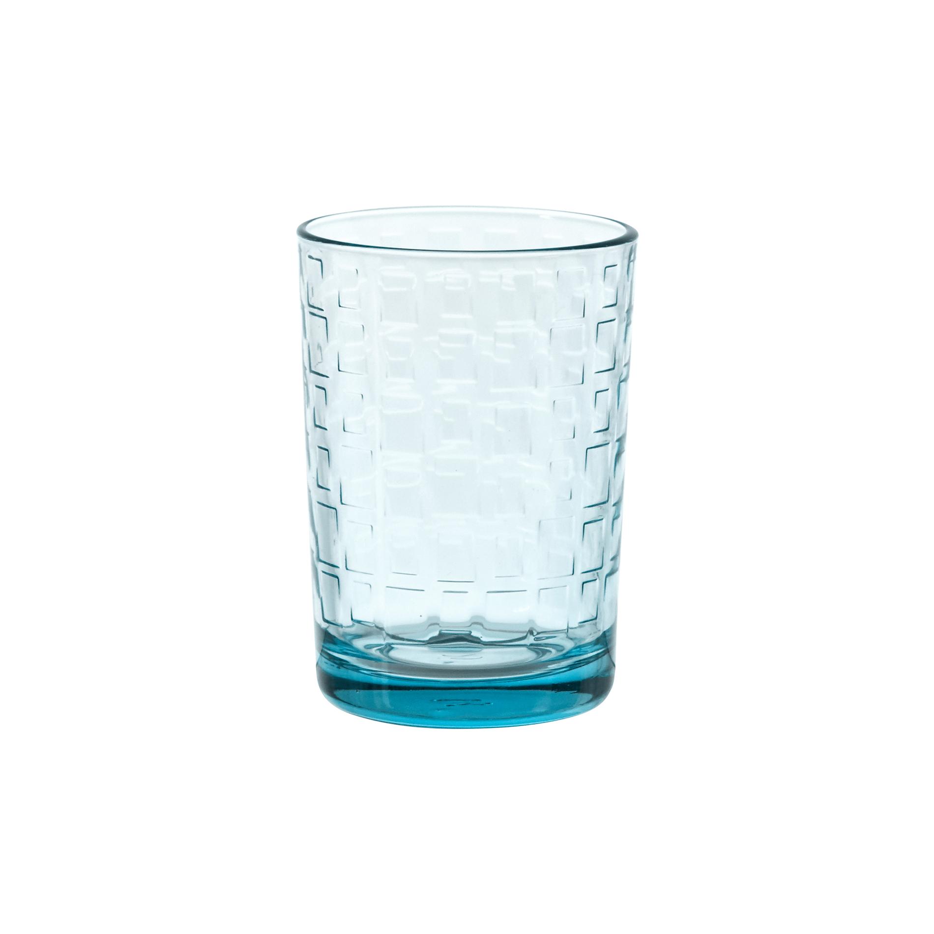 Bicchiere in vetro decorazione geometrica coincasa - Coincasa bicchieri ...