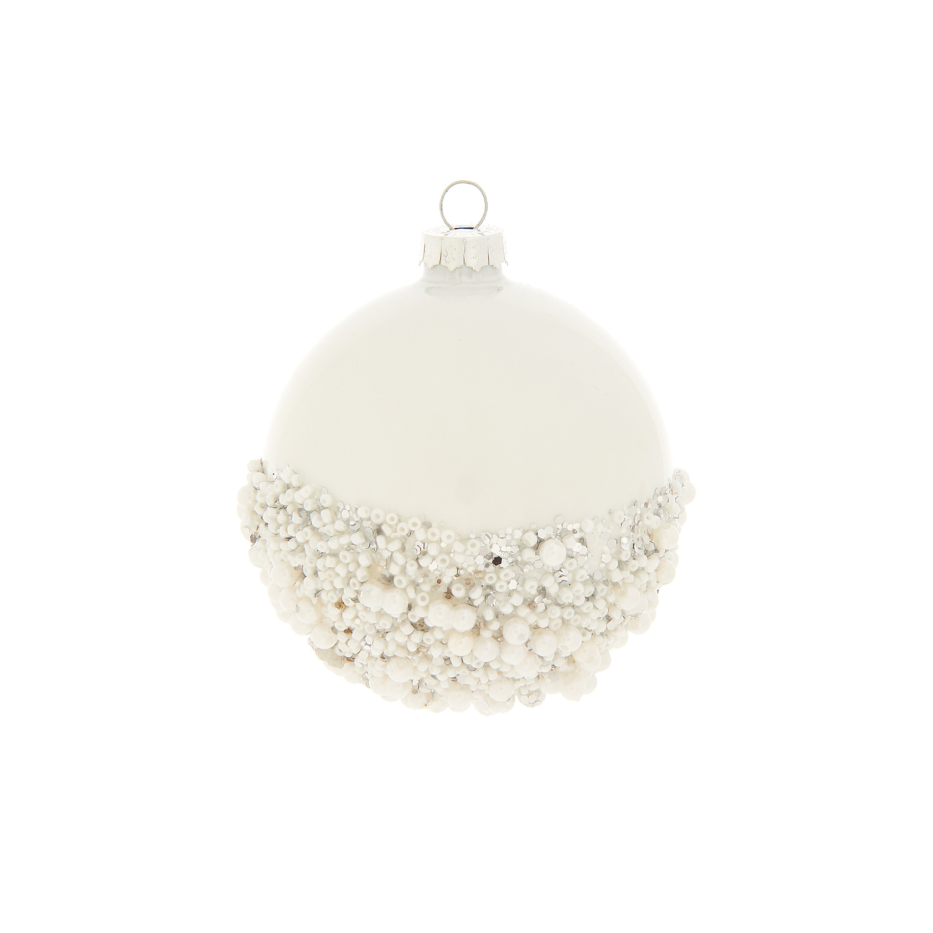 christmas original poshtottydesignsinteriors silver totty beads bauble with designs by product ridged posh