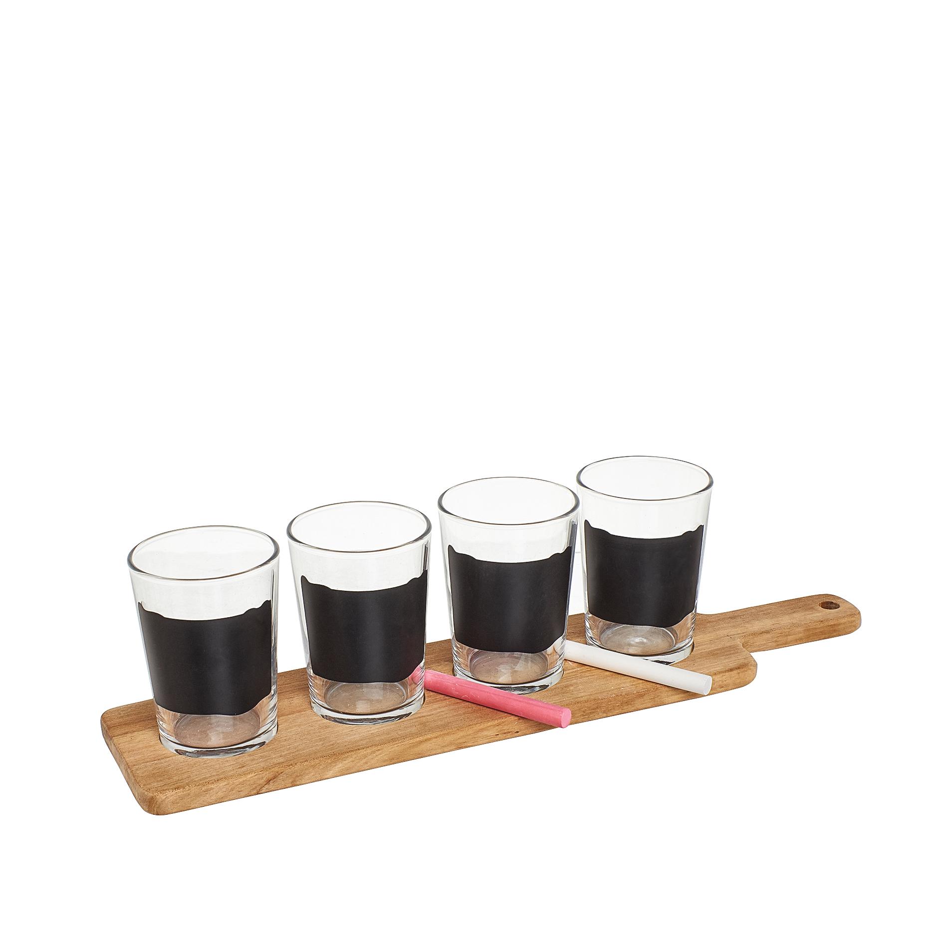 Set degustazione birra con lavagna e vassoio coincasa - Coincasa bicchieri ...