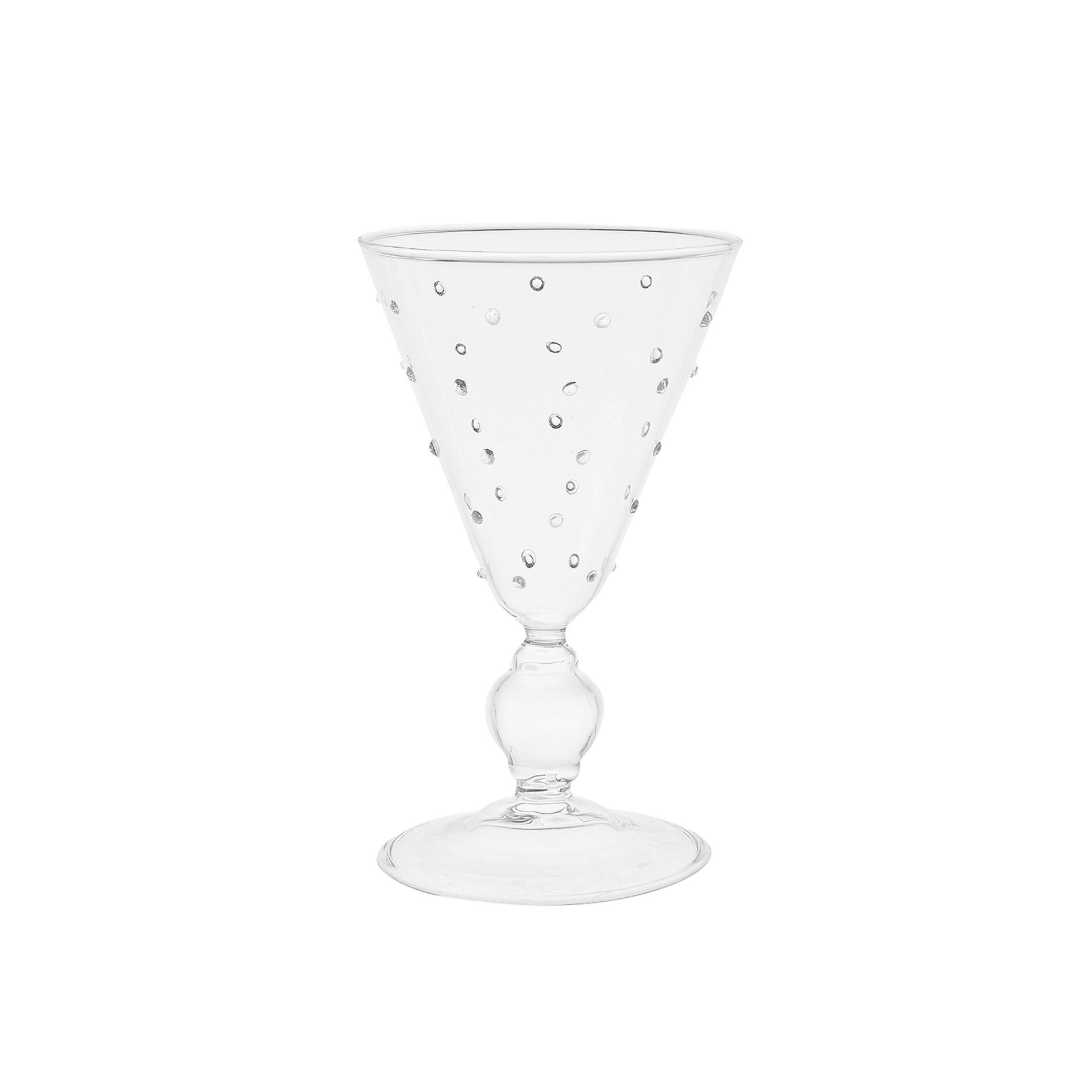 Calice vetro borosilicato dots coincasa - Coincasa bicchieri ...