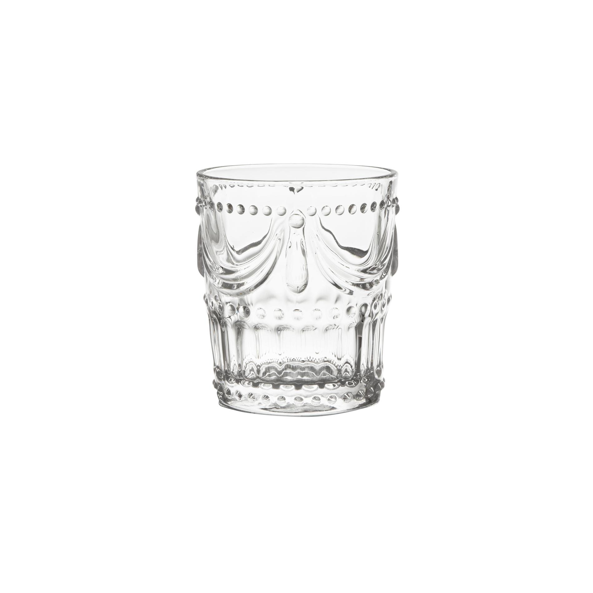 Bicchiere acqua decoro rilievo coincasa - Coincasa bicchieri ...