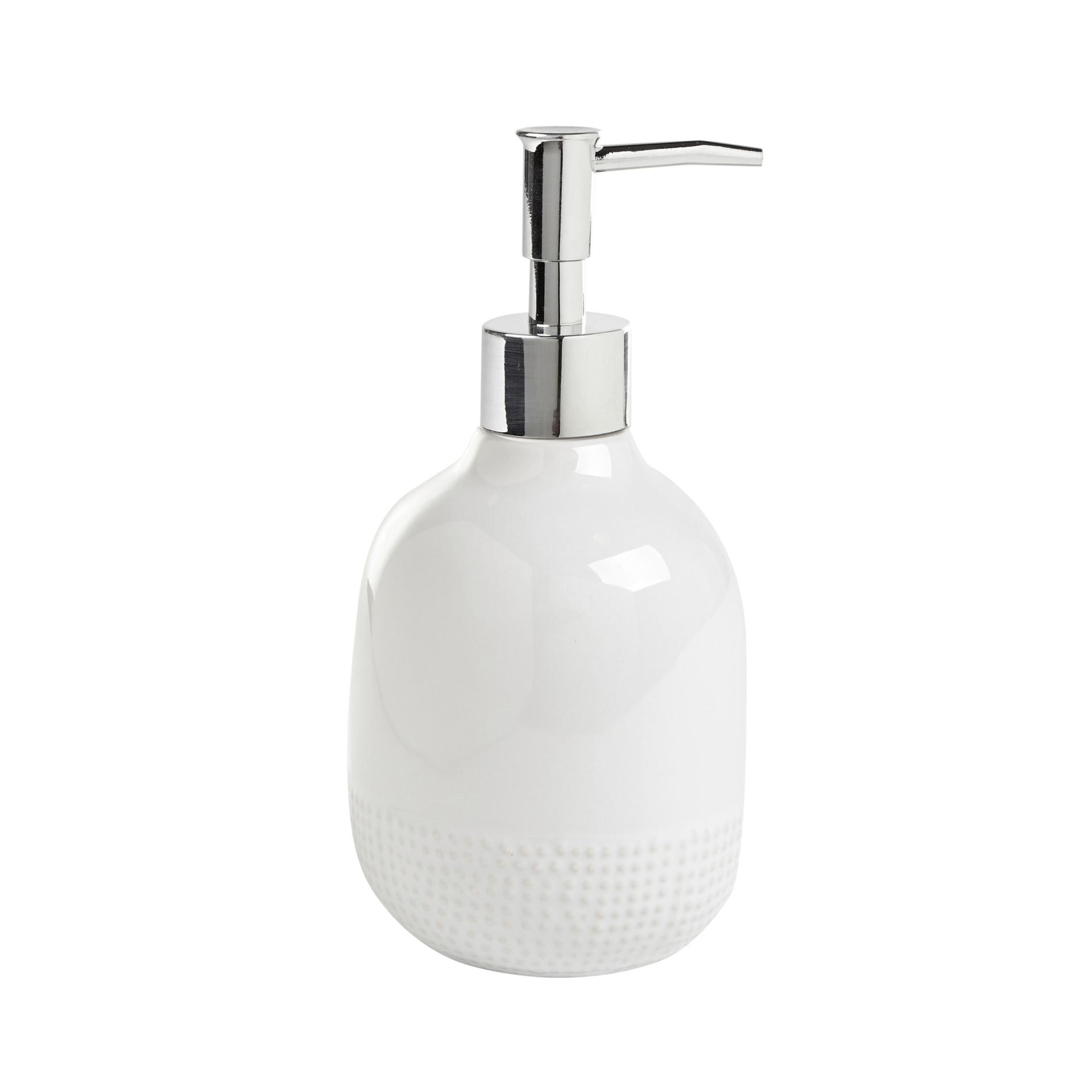 Dispenser sapone ceramica Dots - coincasa