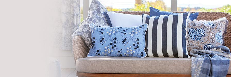 Cuscini arredo decorativi per divani coincasa - Cuscini decorativi ...
