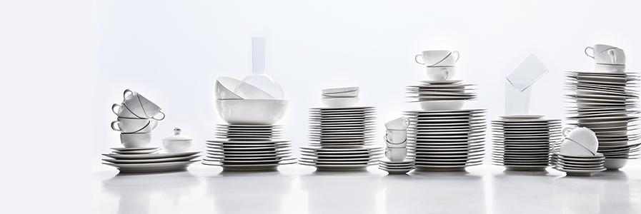 Servizio piatti e set di piatti in porcellana e ceramica | Coincasa