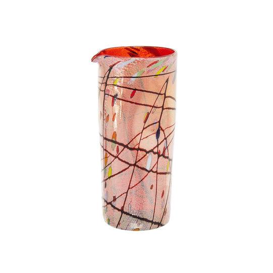 Caraffa vetro di Murano decoro Kandinsky