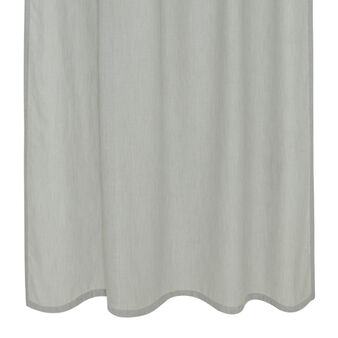 Trevira fabric curtain with hidden tabs