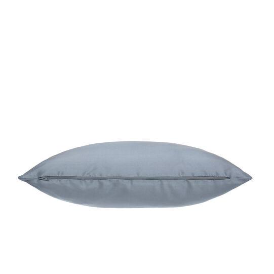 Solid colour shantung-effect cushion 45x45cm