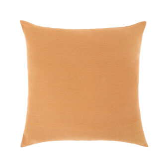 Solid colour 100% linen cushion cover 45x45cm