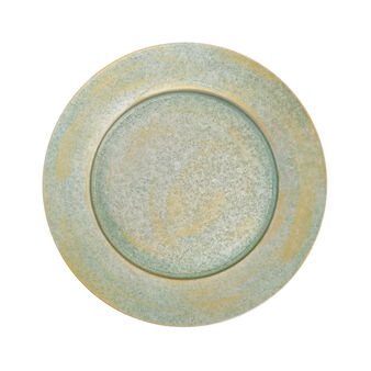 Charger plate in galvanised iron