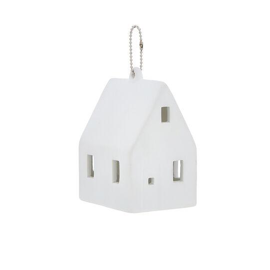 LED house decoration in porcelain