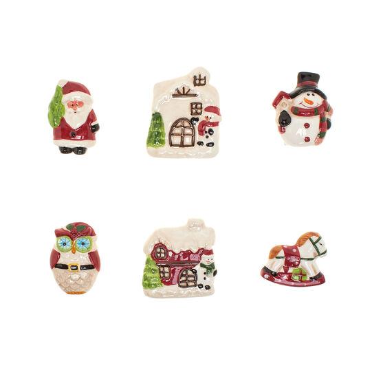Magneti ceramica forma natalizia