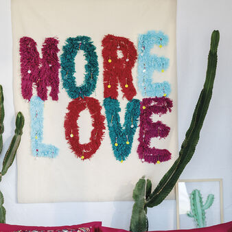 More Love tapestry