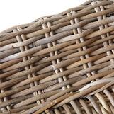 Tuamotu armchair in hand-woven rattan