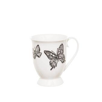 Mug new bone china farfalle