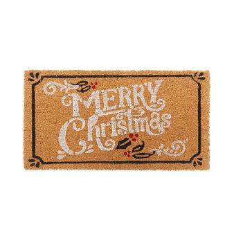 Zerbino motivo Merry Christmas