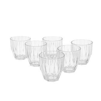 Set 6 bicchieri vetro Diamond