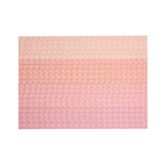Rectangular zig zag table mat