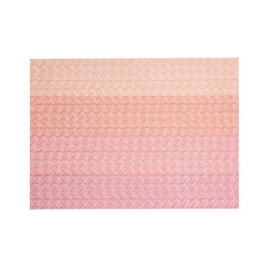 Rectangular zig zag table mat