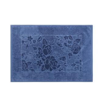 Tappeto scendidoccia puro cotone lavorazione floreale
