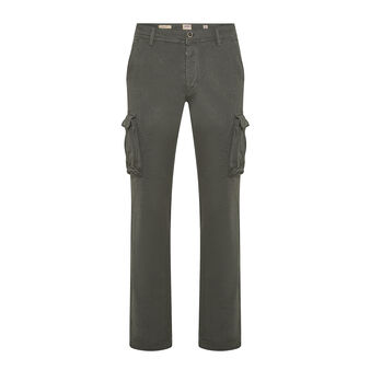 JCT cargo trousers in stretch organic cotton