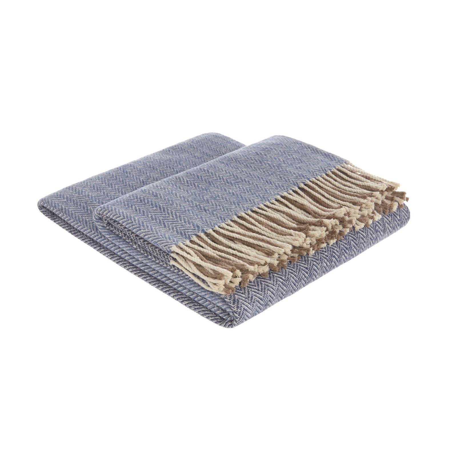 Cotton plaid with fishbone pattern