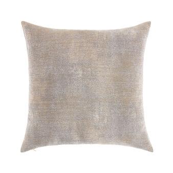Cuscino tessuto effetto mélange 45x45cm