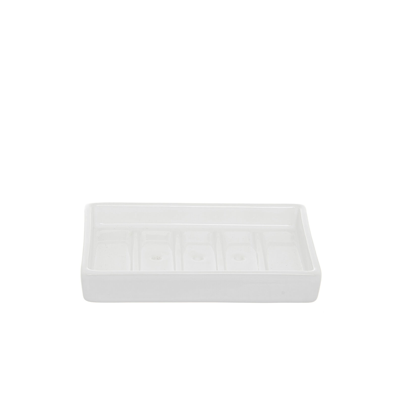 Quadra handmade ceramic soap dish