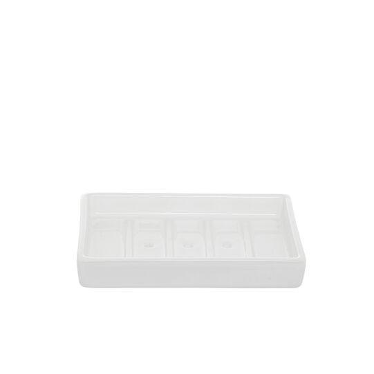 Quadra handmade ceramic soap dish