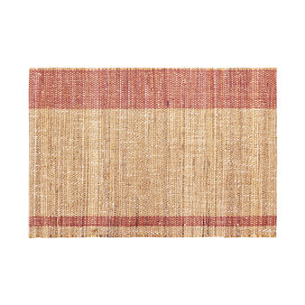 Two-tone abaca table mat