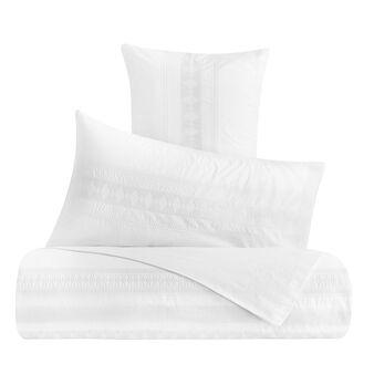 Completo lenzuola cotone lavato con ricamo