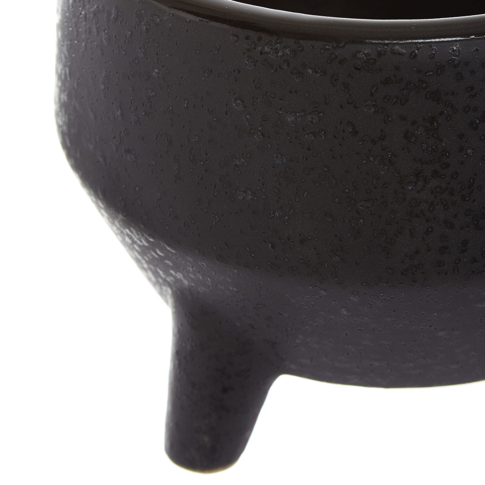 Handmade ceramic cachepot