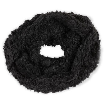 Koan fur-effect neck warmer