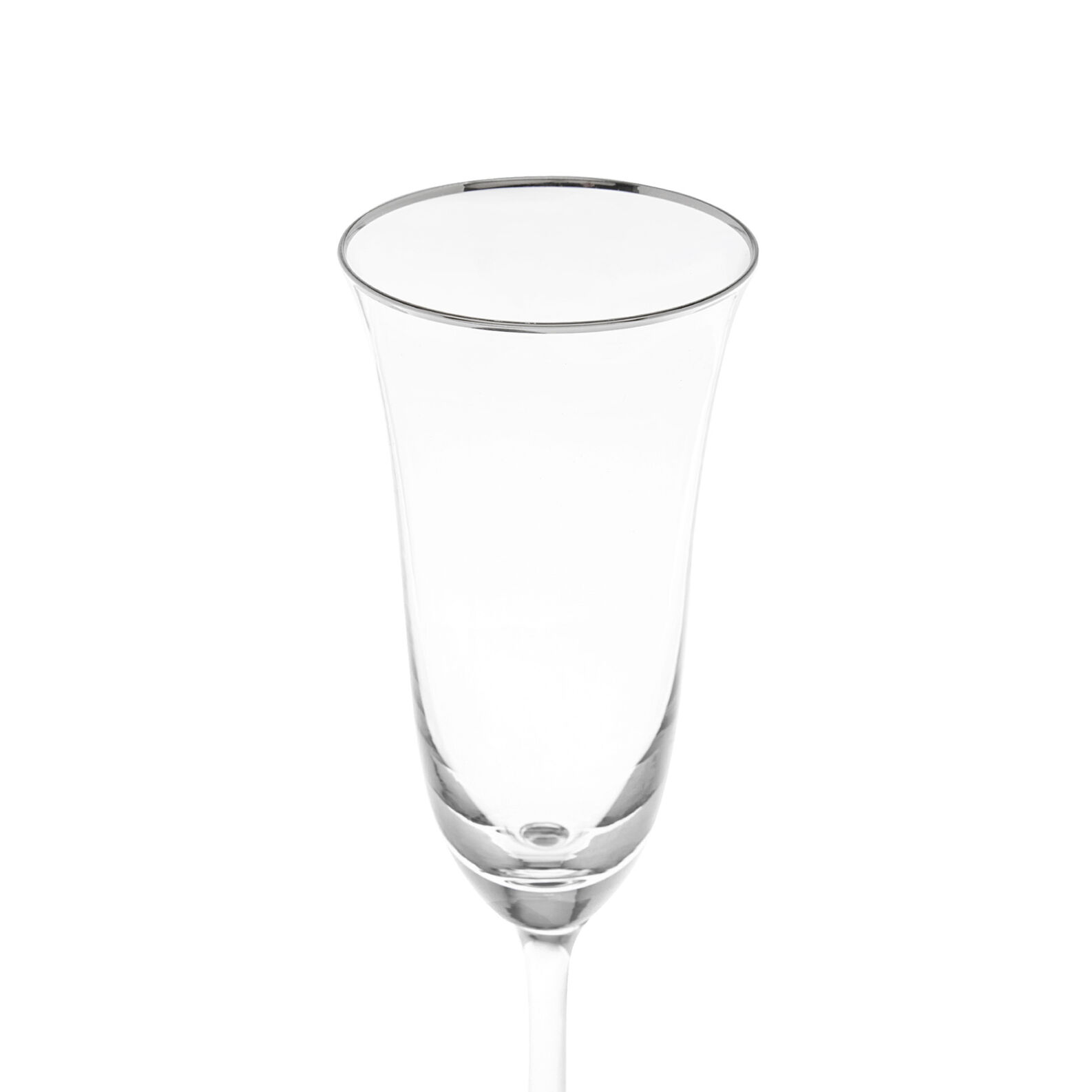 Flûte vetro filo platino
