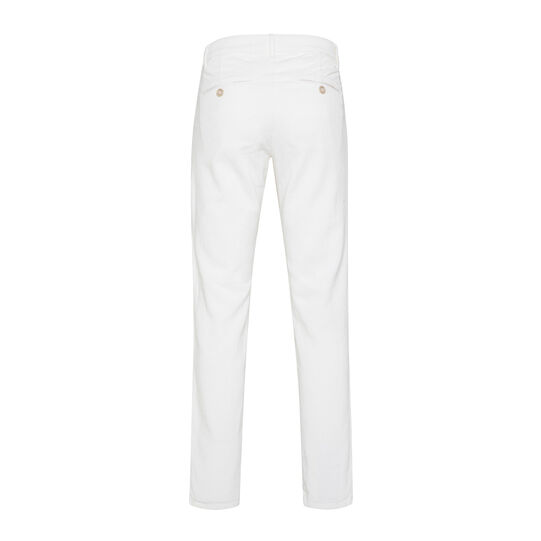 Stretch velvet chino trousers