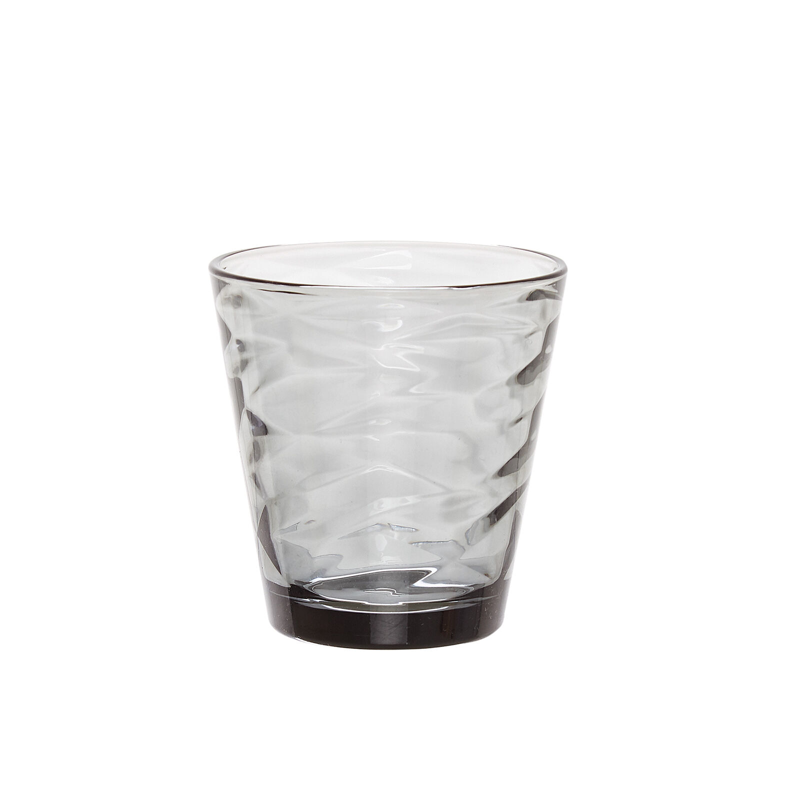 Grey drinking glass