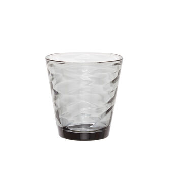 Grey drinking glass