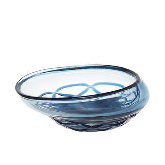 Coloured glass centrepiece
