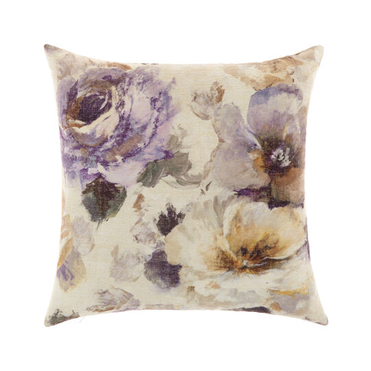 Velvet cushion with print 45x45cm