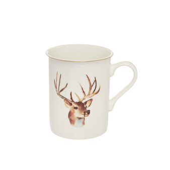 Mug new bone china motivo alce