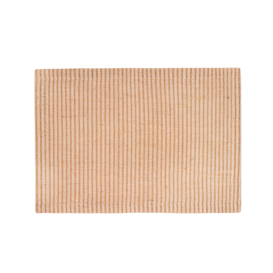Cotton and jute table mat