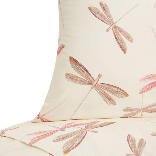 Copripiumino Coin.Pillowcase In Cotton Percale With Dragonfly Pattern Coincasa