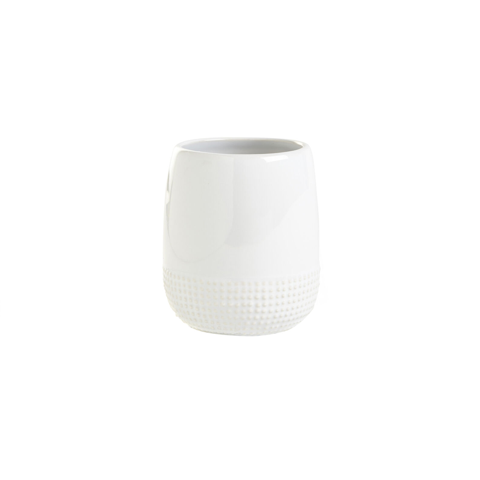 Portaspazzolino ceramica Dots