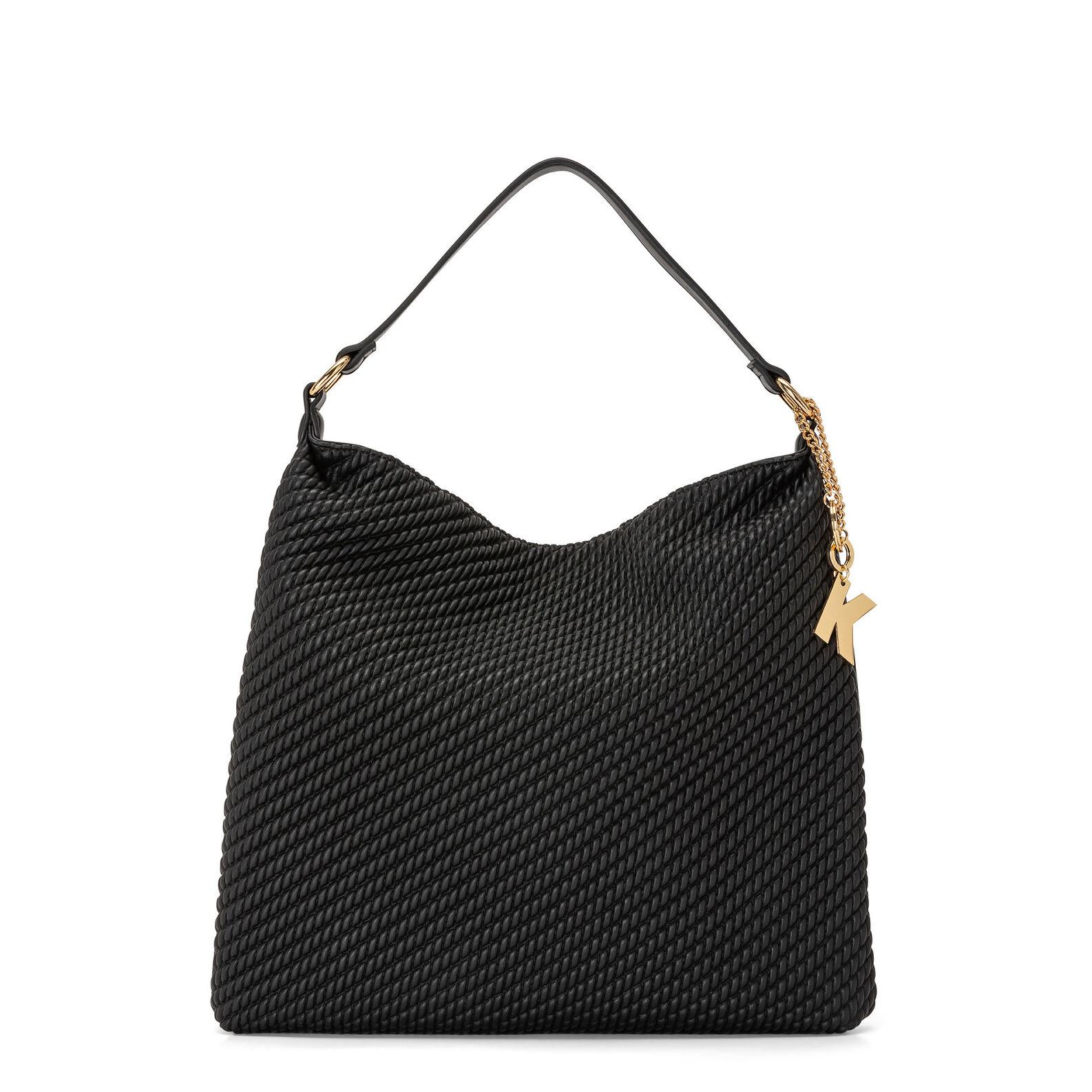Koan curled-effect bag